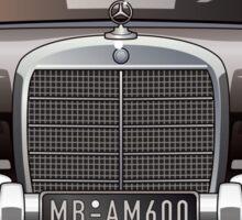 MB 600 W100 Sticker