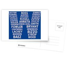 Chicago Cubs Postcards