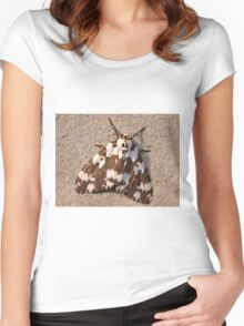 Tussock Moth Women's Fitted Scoop T-Shirt