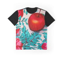 Rosy Apple Graphic T-Shirt