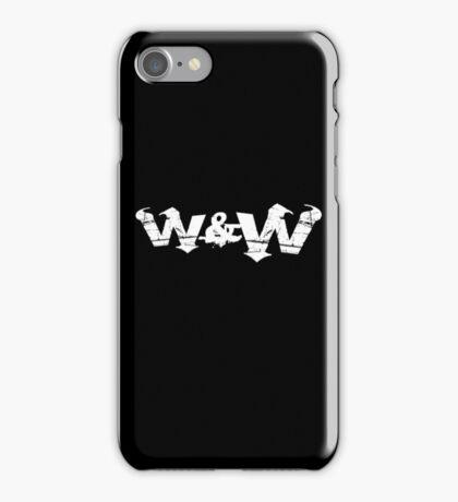 W&W iPhone Case/Skin