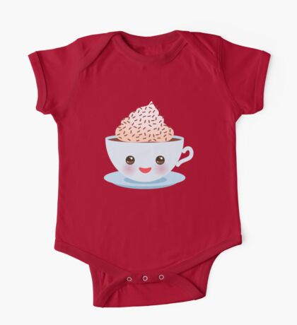 Happy Cup One Piece - Short Sleeve