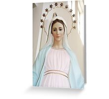 Mary of Medjugorje Greeting Card