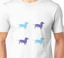 Sausage Dog Pattern Unisex T-Shirt