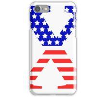 Chi Symbol American Flag Design iPhone Case/Skin