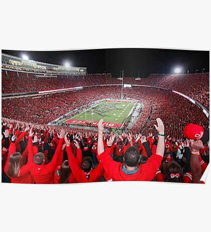 Support Ohio State Buckeyes  Poster