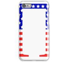 Pi Symbol American Flag Design iPhone Case/Skin