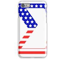 Sigma Symbol American Flag Design iPhone Case/Skin