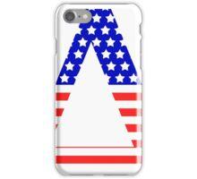 Delta Symbol American Flag Design iPhone Case/Skin