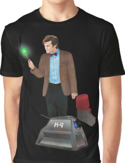 The 11th Doctor and K-9 Graphic T-Shirt