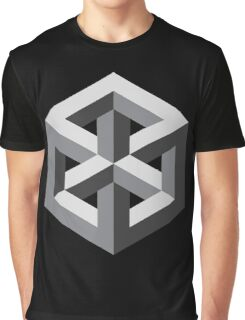 Geometric abstract figure pattern Graphic T-Shirt