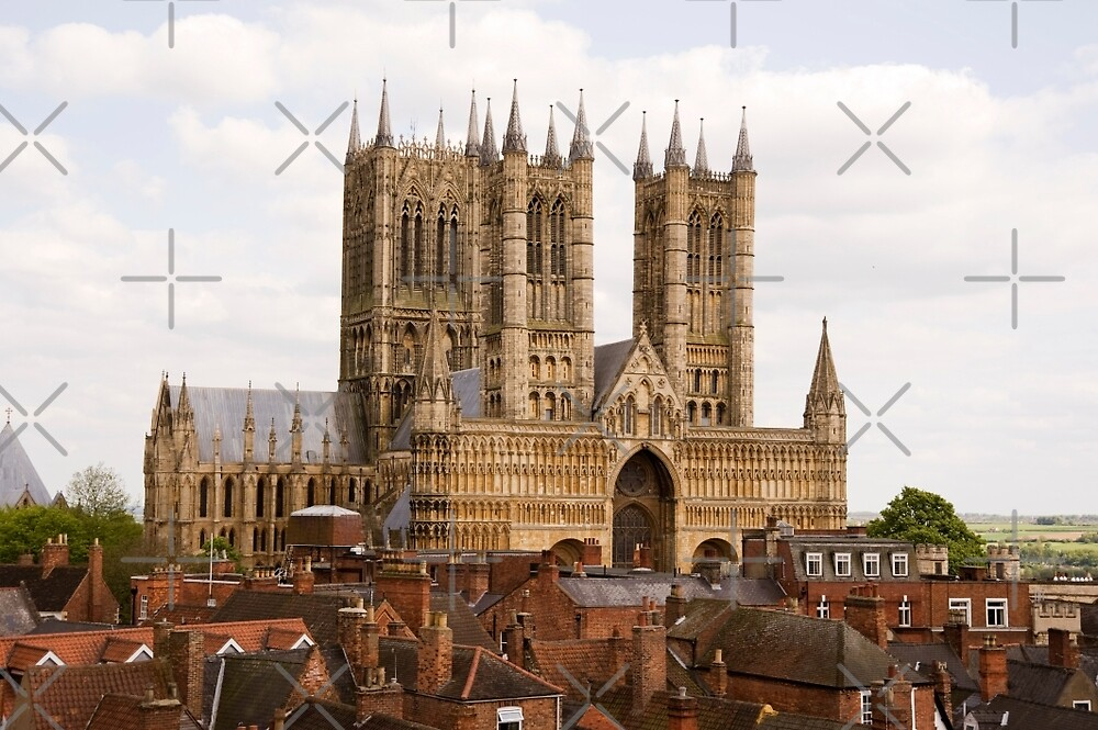 Lincoln Cathedral, Lincoln, UK by John Morris