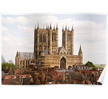 Lincoln Cathedral, Lincoln, UK Poster