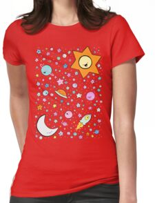 Cosmic Cuties Womens Fitted T-Shirt