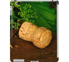 Champagne cork iPad Case/Skin
