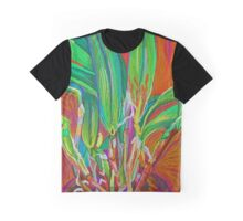 Orchid Plant Graphic T-Shirt