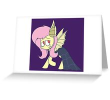 Halloween Fluttershy Greeting Card