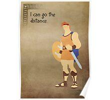 Hercules inspired design (Hercules). Poster