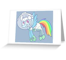 Halloween Rainbowdash Greeting Card