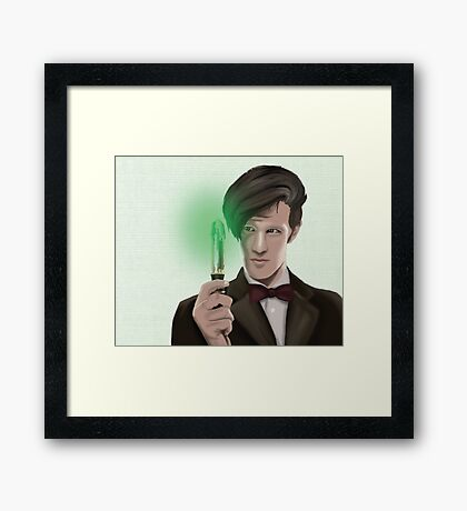 12th doctor Framed Print