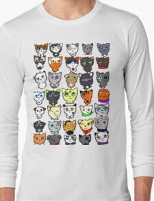 The many faces of Acorn Long Sleeve T-Shirt