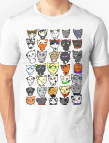 The many faces of Acorn Unisex T-Shirt