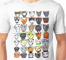 The many faces of Acorn Unisex T-Shirt