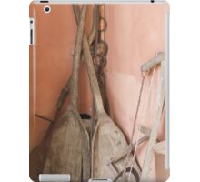 old tools on the farm iPad Case/Skin