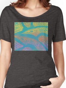 Gelatin Monprint 13 Women's Relaxed Fit T-Shirt