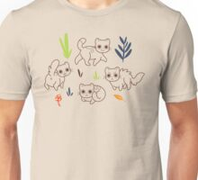 Cats and Plants Unisex T-Shirt