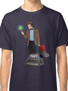 The 11th Doctor and K-9 Classic T-Shirt