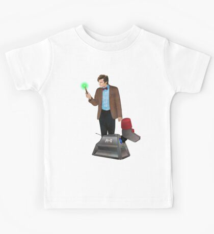 The 11th Doctor and K-9 Kids Tee