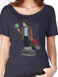 The 11th Doctor and K-9 Women's Relaxed Fit T-Shirt