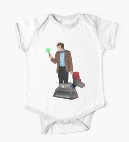 The 11th Doctor and K-9 One Piece - Short Sleeve