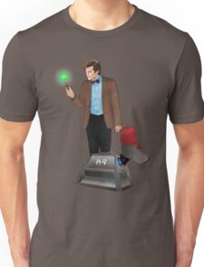 The 11th Doctor and K-9 Unisex T-Shirt