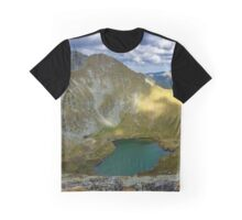 High resolution panorama of mountains Graphic T-Shirt
