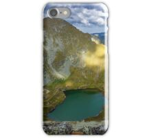 High resolution panorama of mountains iPhone Case/Skin