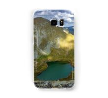 High resolution panorama of mountains Samsung Galaxy Case/Skin