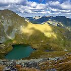 High resolution panorama of mountains by naturalis