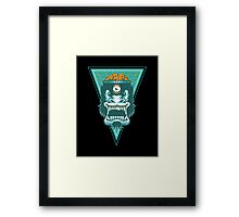 Gorilla Brains Framed Print