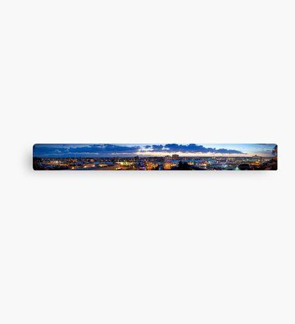 Newport Beach City Landscape Panorama  Canvas Print
