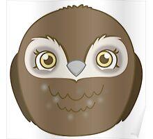 Cute Kawaii Owl Poster