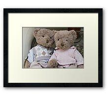 teddy bears Framed Print