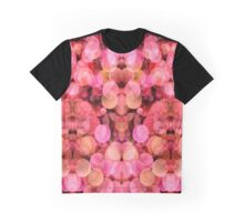 PEACH AND PINK BUBBLES  Graphic T-Shirt