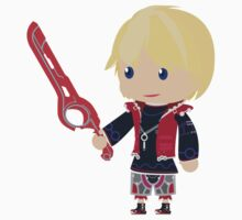 Chibi Shulk Vector One Piece - Long Sleeve