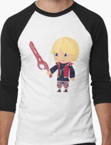 Chibi Shulk Vector Men's Baseball ¾ T-Shirt