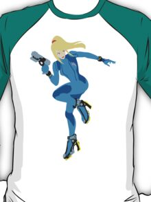 Zero Suit Samus Vector T-Shirt