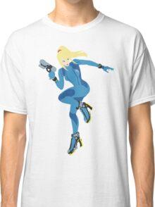 Zero Suit Samus Vector Classic T-Shirt