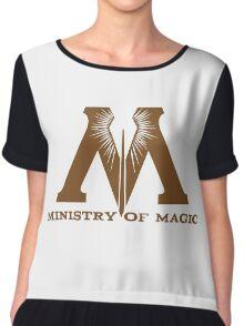 Ministry of Magic Chiffon Top