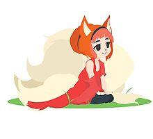 Kitsune Vector by ViralDrone